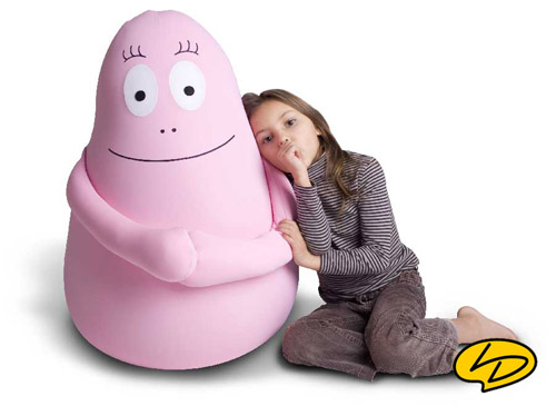Barbapapa knuffel XXL