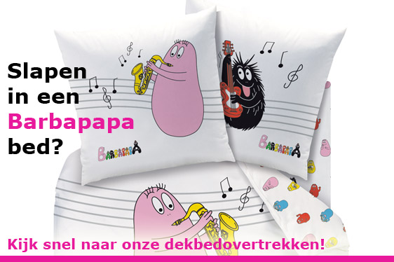 Barbapapa dekbedovertrekken