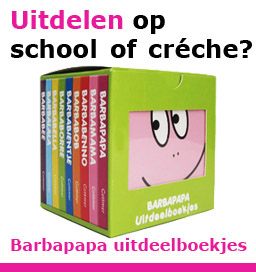 Barbapapa uitdeelboekjes